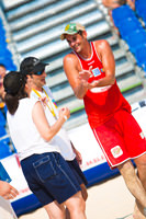 Beach volley nice 2010